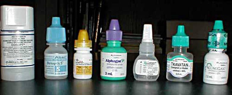 Капли для глаз для лечения глаукомы